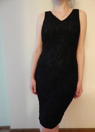 Кружевное платье с качественного кружева!
