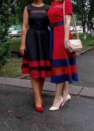 Платье с сеточкой, сукня вечірня