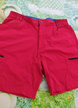 Крассные шорты большого размера