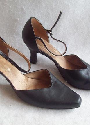 Танцевальные туфли кожа, размер 38