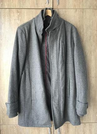 Пальто мужское bershka