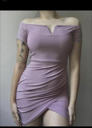 Лиловое платье quiz