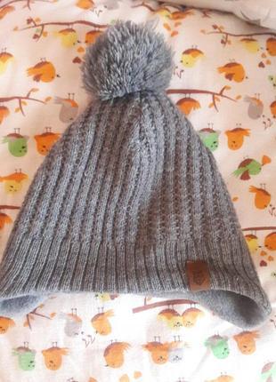 H&m шапка на флісі