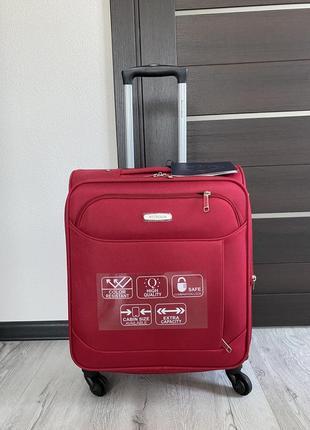 Крутой чемодан wittchen оригинал польша/германия