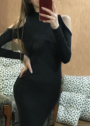 Длинное платье missguided