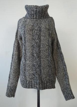 Идеальный свитер в косы с горлом от max mara weekend