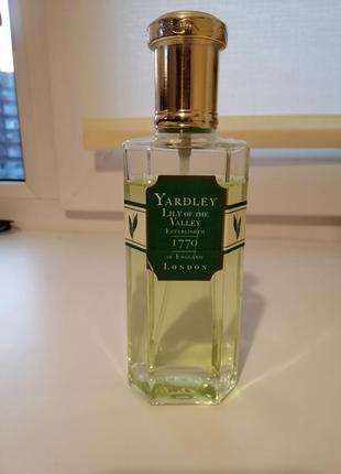 Yardley lily of the valley, оригинал, винтаж.