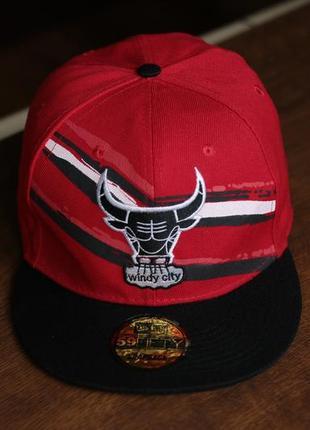 Бейсболка new era 59fifty chicago bulls snapback cap