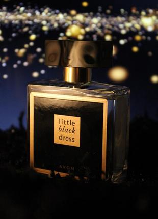 Парфюмерная вода little black dress от avon