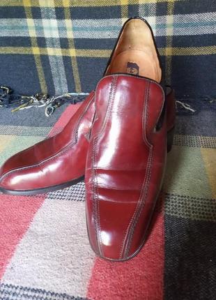 Туфли кожаные silvas винтажные made in italy
