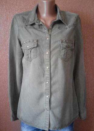 Рубашка джинсовая marks&spencer