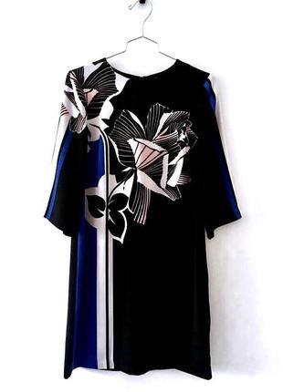 Стильное качественное черное платье warehouse англия