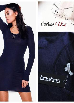 Франция платье темно-синего цвета оригинал sweewe paris / плаття темно-синього кольору