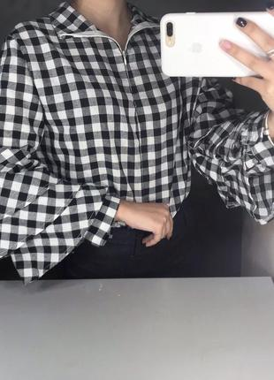 Рубашка клечатая
