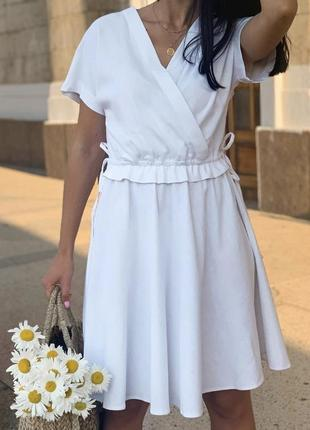 Льняна сукня бренду virna