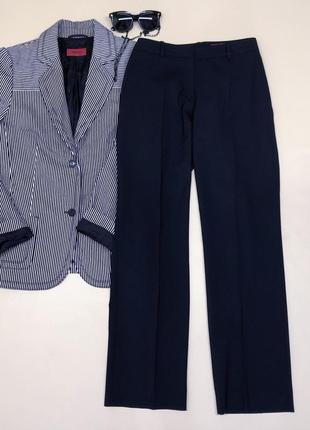 Брендовые шерстяные брюки премиум качества