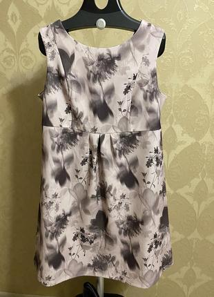 Платье next в цветочный принт