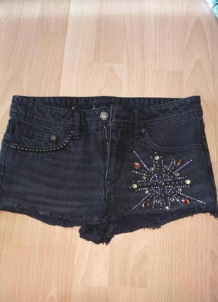 Короткие шорты h&m 34