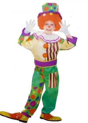 Масrарадный костюм клоун - s