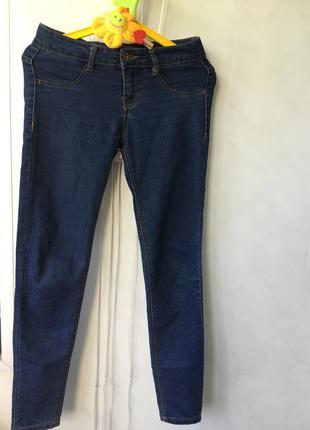 Джинсы узкие скини базовы джинсы р 34