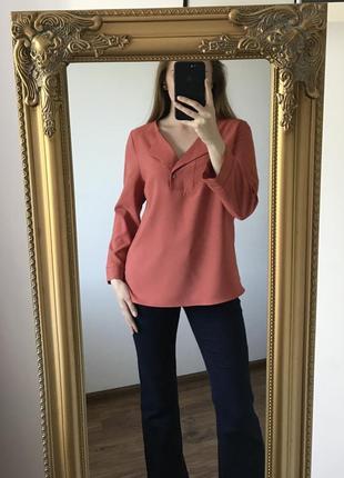 Теракотовая блуза tu pp 12