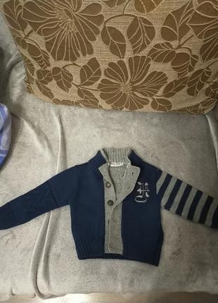 Кофта для мальчика на 1 год
