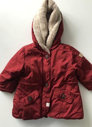 Куртка осень-зима zara baby, 9-12 міс