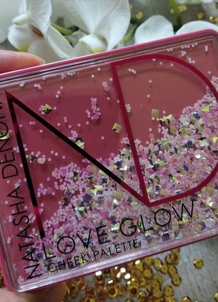 Палітра для обличчя natasha denona love glow cheek palette