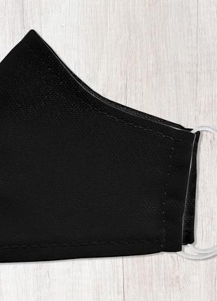 Маска для лица, размер s-m чёрная (smm_20s057)