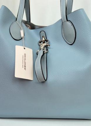 Стильная сумка от французского бренда david jones оригинал