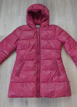 Зимняя куртка ф. benetton оригинал р. xs-s в новом состоянии
