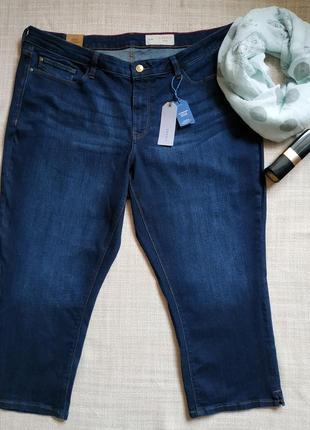 Бриджи esprit жіночі navy blue шорти женские удлиненние esprit