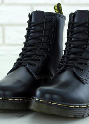 Женские зимние ботинки dr. martens 1460, доктор мартенс, жіночі черевики dr martens