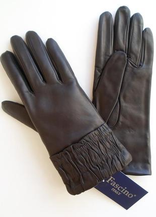 Размер 7½ перчатки из кожи ягненка, италия