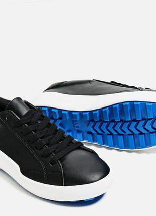 Кроссовки кроссы черные от zara