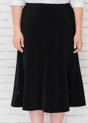 Клешеная юбка 48-62