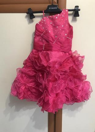Танцевальное платье fancy kids