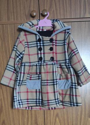 Стильненькое пальто для девочки