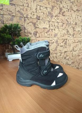 Ботинки сапоги чоботи зимние viking gore-tex 24р/стелька 16-16,2см