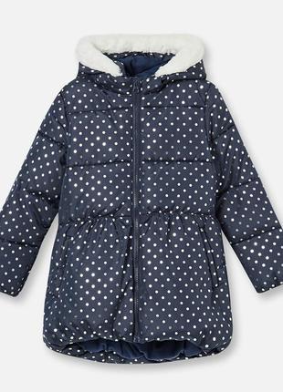 Куртка зимняя для девочки fox&banny sinsay 128