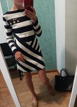 Теплющее шерстяное платье от tommy hilfiger