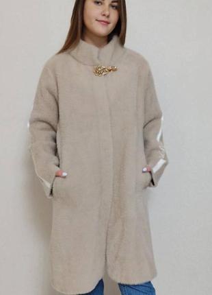 Шикарное пальто из альпаки турция люкс качество