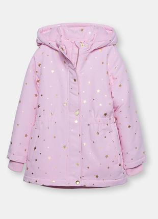 Куртка зимняя для девочки fox&banny sinsay 134