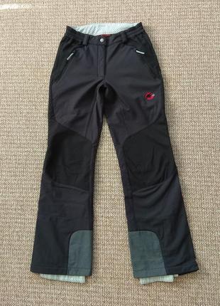 Mammut softech женские лыжные штаны softshell оригинал (xs - uk8)