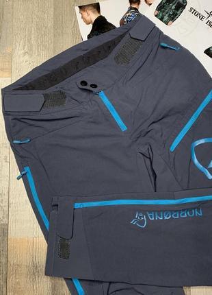 Продам туристичні штани-norrona fjqra flex1 women's big logo pants