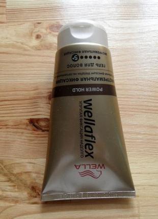 Гель для волосся wella wellaflex екстрасильної фіксації 150 мл