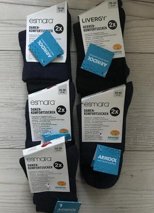 Набор / носки livergy / германия / качественные носки