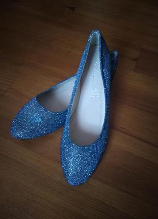 Нарядні балетки туфли туфлі