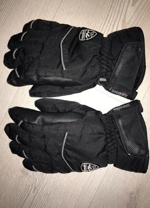 Спортивные зимние перчатки активный спорт snowlife - s