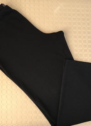 Трикотажные прямые штаны